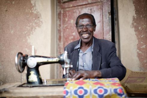 Rwandan beneficiary
