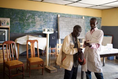 Rwanda eye screening