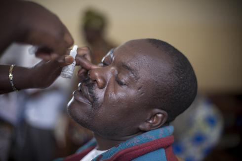 Eye screening Rwanda