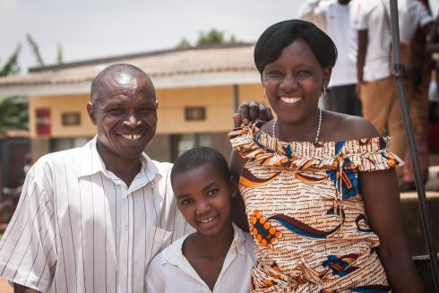 Rwandan beneficiaries