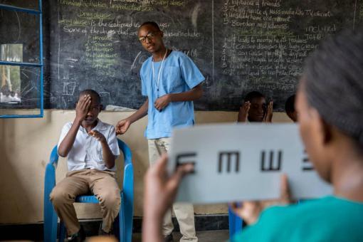 Rwanda School Screening